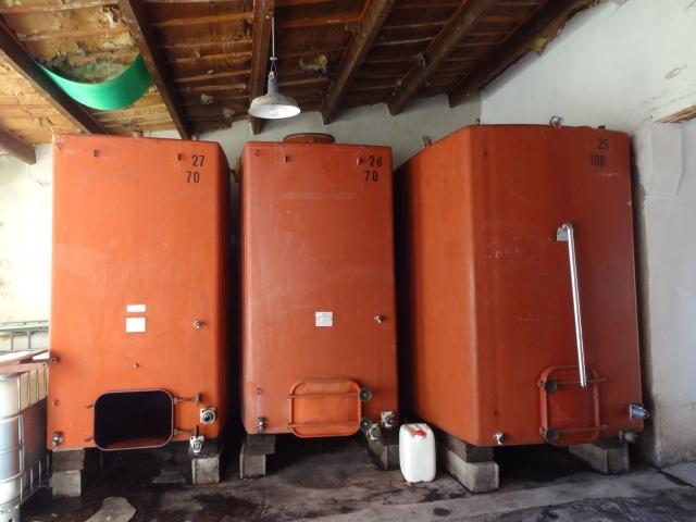 Steel Tanks at Clos de Trias